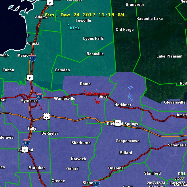 CNYWeather Doppler Radar